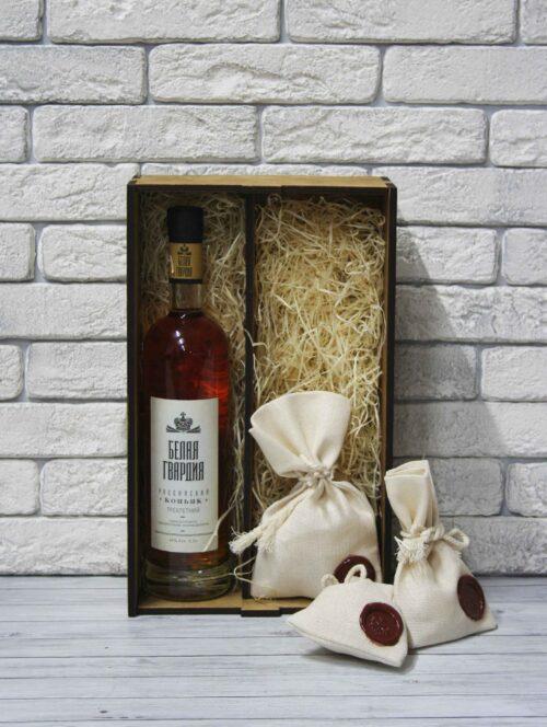 деревянная упаковка для вина