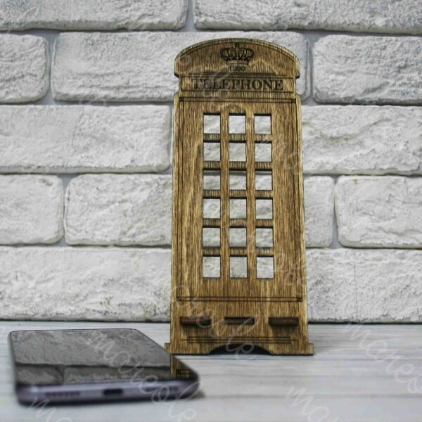 Деревянная подставка под телефон «TELEPHONE»