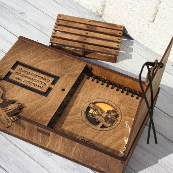 Подарочный набор из дерева «Профессиональный»