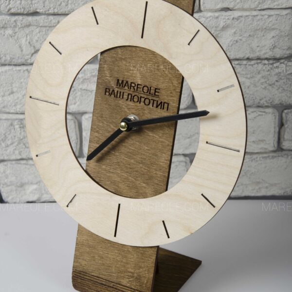 Деревянные часы Unique