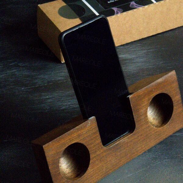 Акустическая подставка для телефона «Natural Sound»