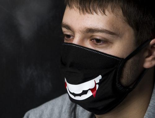 Маска защитная на рот и нос