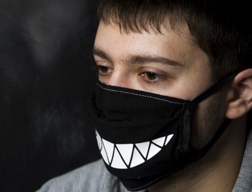 Маски защитные на рот и нос