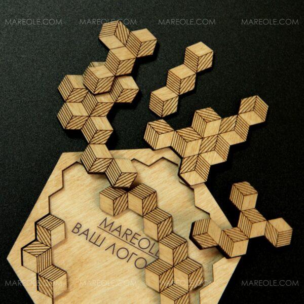 Антистресс-Пазлы «3D cube»